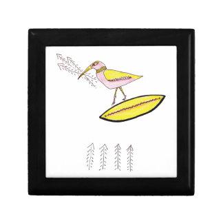 Birdy with twig arrows jewelry box