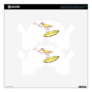 Birdy with twig arrows PS3 controller decals