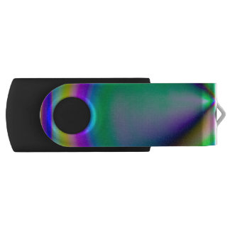 Birefringent pattern flash drive