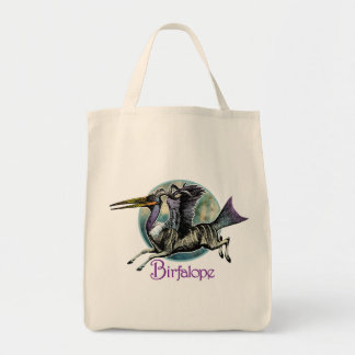 Birfalope Grocery Bag Grocery Tote Bag