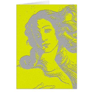 Birh de Venus, diosa, alternativa Tarjeta De Felicitación