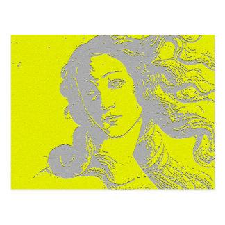 Birh de Venus, diosa, alternativa Tarjeta Postal