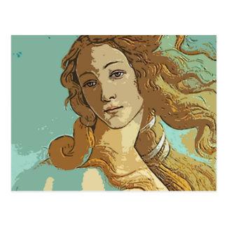 Birh de Venus, diosa Postal