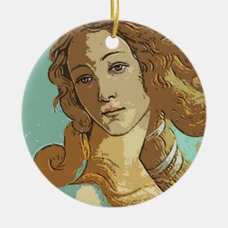 Birh of Venus, Goddess Ceramic Ornament