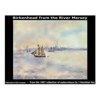 Birkenhead del río Mersey. Tarjetas Postales