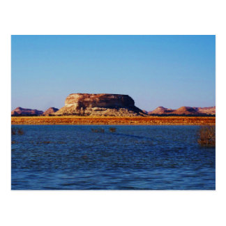 Birket al-Maraqi Lake in Siwa Oasis Postcard