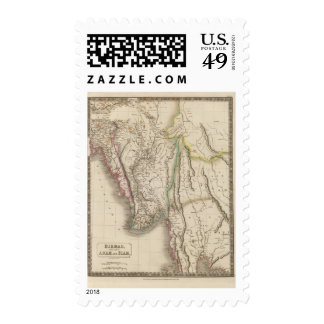 Birmah, Anam, Siam, Thailand Postage Stamps