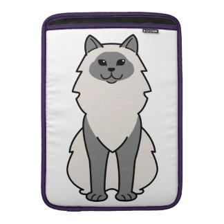 Birman Cat Cartoon MacBook Sleeve