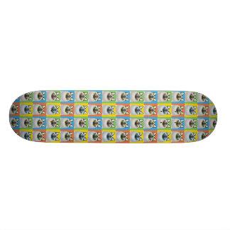 Birman Cat Cartoon Pop-Art Skate Board Deck