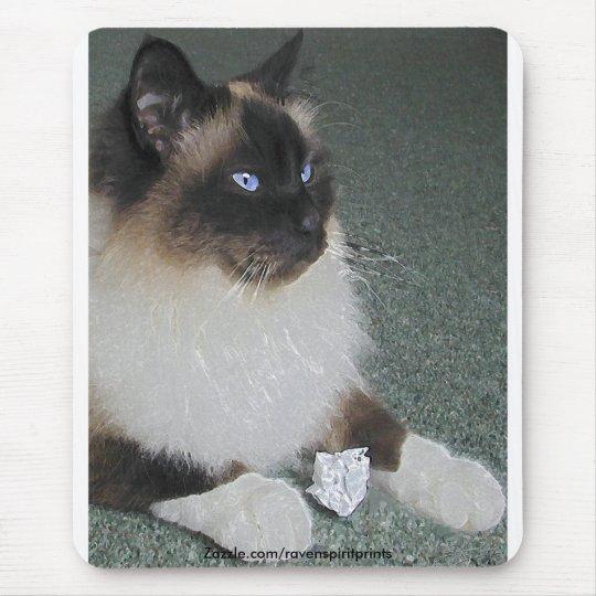 BIRMAN - CAT Mousepad de RAGDOLL
