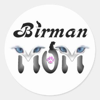 Birman Mom Gifts Stickers