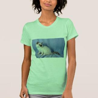 Birman, punto de la lila camiseta