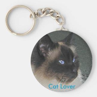 BIRMAN RAGDOLL CAT Collection Key Chains