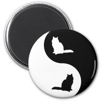 Birman Yin Yang 2 Inch Round Magnet