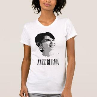 Birmania libre - Aung cantó a Suu Kyi Camisetas
