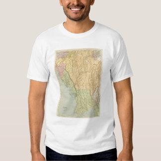 Birmania y países adyacentes camisas