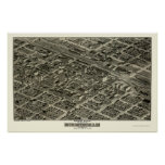 Birmingham, AL Panoramic Map - 1903 Posters