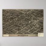 Birmingham Alabama 1904 Panoramic Map Print