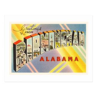 Birmingham Alabama AL Old Vintage Travel Souvenir Postcard