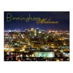 Birmingham, Alabama, los E.E.U.U. Tarjeta Postal