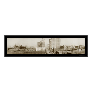 Birmingham Alabama Photo 1916 Poster