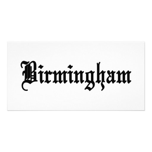 Birmingham, Alabama Photo Card