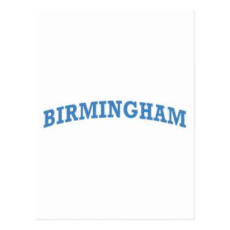 Birmingham Alabama Postcard
