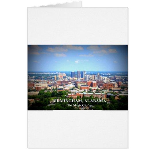 Birmingham, Alabama Skyline Card