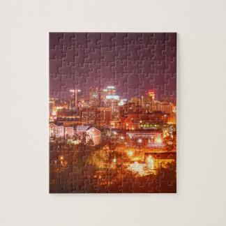 birmingham alabama skyline jigsaw puzzle