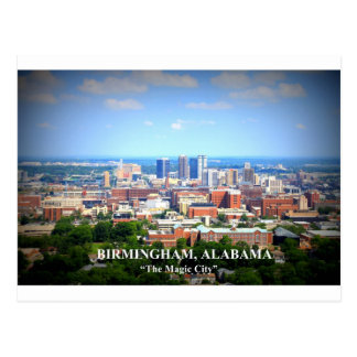 Birmingham, Alabama Skyline Postcard