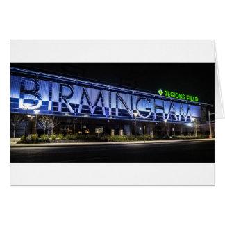 Birmingham Alabama Tarjeta De Felicitación
