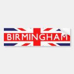 Birmingham : British Flag Bumper Sticker