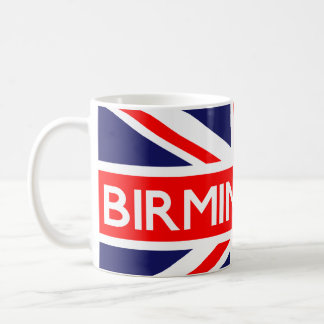 Birmingham : British Flag Coffee Mugs