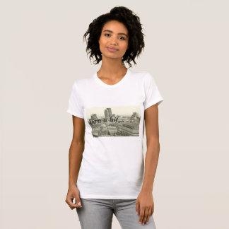 Birmingham Cityscape & Tara a Bit on t-shirt