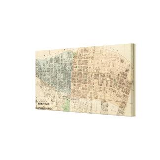 Birmingham, E Birmingham Canvas Print