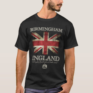 Birmingham England UK Flag T-Shirt