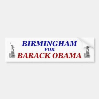 Birmingham for Barack Obama bumper sticker