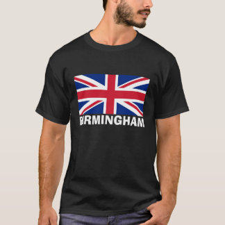 Birmingham in White T-Shirt