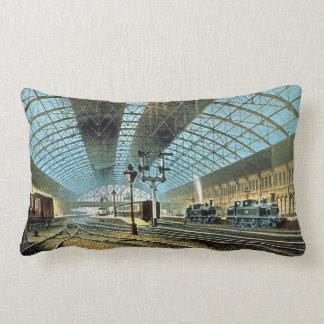 Birmingham New Street Railway Station England Pillow