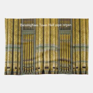 Birmingham organ kitchen towel