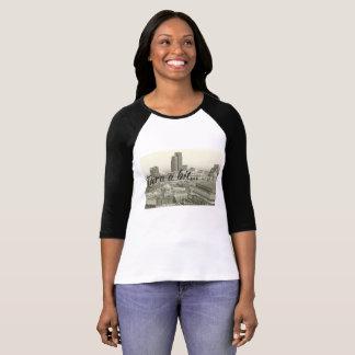 Birmingham skyline & Tara a bit on sleeved tshirt