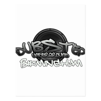 Birmingham UK DUBSTEP Dub Grime reggae Electro Postcard