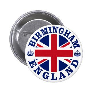 Birmingham Vintage UK Design Button