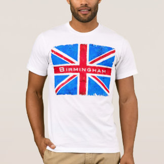 Birmingham - Vintage United Kingdom Union Jack T-Shirt