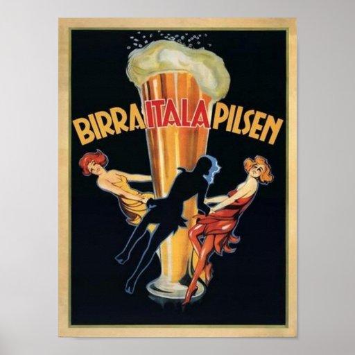Birra Itala Pilsen Posters