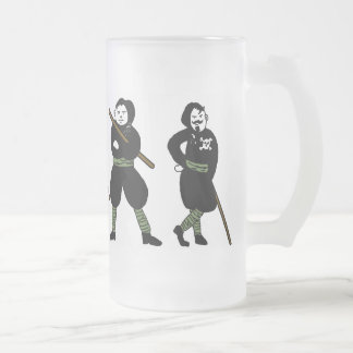 BIRRA SQUADRISTA 16 OZ FROSTED GLASS BEER MUG