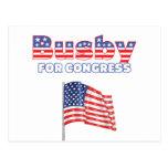 Birretina para el diseño patriótico de la bandera  tarjetas postales