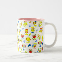 Birt Art design for Two-Tone Mug