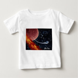 """""""BIRTH"""" (an outer space design) ~ Baby T-Shirt"""