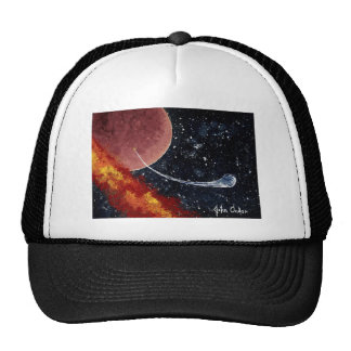 BIRTH an outer space design Trucker Hats